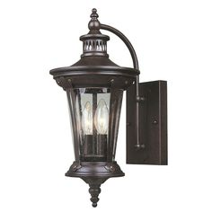 North Hampton 2-Light, 3-Light Outdoor Old Bronze Wall Lantern