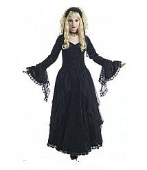 Sinister Bewitching Gothic Medieval Dress