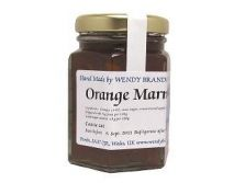 Wendy Brandon Orange Marmaladeプロ料理人コンテスト金賞受賞オレンジマーマレード130g