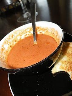 The 3 O's: Rainy Day Tomato Bisque