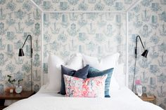 A Bright and Beautiful Home in Nashville | Design*Sponge | Stevie Howell Pillow