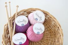 Image of DMC Woolly - Luxurious Pinks and Purple