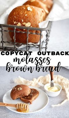 WMF Cutlery And Cookware - One Of The Most Trustworthy Cookware Producers Delicious Brown Bread Dinner Rolls, Copycat Outback Molasses Brown Bread. These Are Perfect To Go With Soups, Stews And More Recipe Via Thefreshcooky Best Bread Recipe, Banana Bread Recipes, Outback Molasses Bread Recipe, Kale Recipes, Eggplant Recipes, Noodle Recipes, Salmon Recipes, Turkey Recipes, Potato Recipes