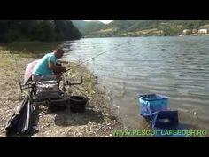 ▶ Pescuit la feeder pe Dunare si prezentare montura - YouTube