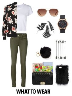 """""""What to wear"""" by dem-hinds on Polyvore featuring rag & bone/JEAN, Stella & Dot, Marc Jacobs, RE/DONE, New Look and Chanel"""