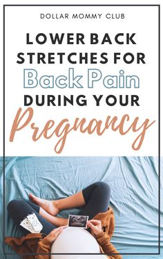 Pregnancy is a beautiful and amazing experience. With this incredible thing your body is doing there does come some unwanted pregnancy symptoms such as back pain. If you are experiencing back pain during your pregnancy. Click here now to see some amazing stretches that you can do get some relief!  #remediesforbackpainduring #pregnancybackpainduringpregnancy  #howtohelpbackpainduringpregnancy  #lowerbackpainduringpregnancy  #backpainduringpregnancythirdtrimester