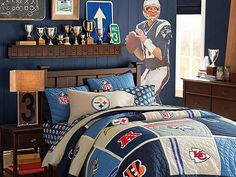 I Love The PBteen Chatham NFL Bedroom On Pbteen.com