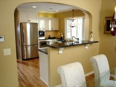 Archways Into Kitchen | How To Install An Archway Between Rooms : How To : Part 35