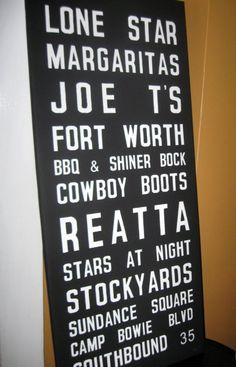 Fort Worth <3