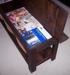 Ana White | Build a Flip Top Storage Bench / Coffee Table | Free and Easy DIY Project and Furniture Plans
