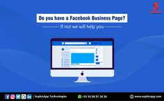 Do you have a Facebook Business Page? If not we will help you for more Information WhatsApp us @ +91 93 98 97 26 30 www.sophicapp.com  #digitalmarketingagency #bestdigitalmarketingagency #BesDigitalMarketingAgencyinhyderabad #DigitalMarketingCompanyHyderabad #digitalmarketingservices #topdigitalmarketingservices #BestDigitalMarketingServicesinHyderabad Facebook Business, Business Pages, Digital Marketing Services, Web Application, App Development, Mobile App, Technology, Tech, Mobile Applications