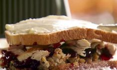 If you have so much leftover food from Turkey Day that it's taking over your home, this recipe will save your life.and your tastebuds. Turkey Leftovers, Leftover Turkey, Leftovers Recipes, Thanksgiving Leftover Recipes, Thanksgiving Leftovers, Pioneer Woman Recipes, Fusion Food, Paninis, Ree Drummond