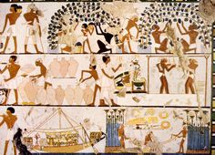 Egypt, Art History, Workers