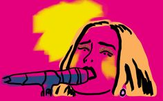 music illustration beauty adele glastonbury rotoscoping #humor #hilarious #funny #lol #rofl #lmao #memes #cute