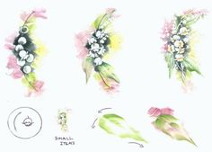 Lily of the Valley step sheet by Penny Nangle