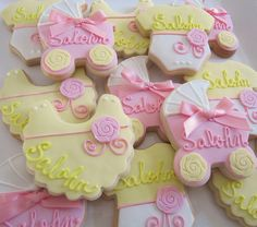 Baby cookies by L sweets, via Flickr
