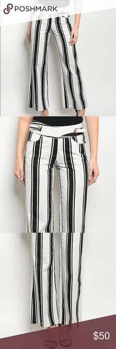 Dazzling Black & White Pants Black & White Pants Pants