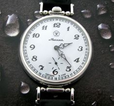 Watches, Parts & Accessories Vintage Ussr Molinja Russian Watch Mechanical Rare Soviet Limit Edition Convert