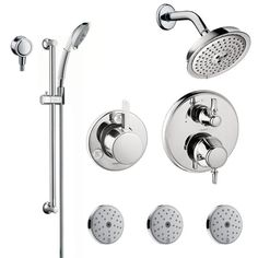 hansgrohe brass shower systems google search