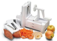 Kitchen magic: The spiralizer turns fruit and vegetables into noodles in less time than it takes to peel a spud