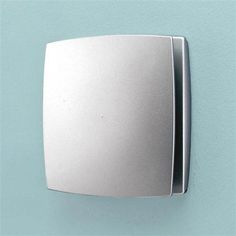 HIB Breeze Wall Mounted Bathroom Fan With Timer U0026 Humidity Sensor   Matt  Silver   31400