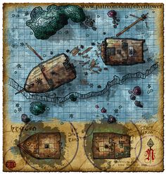 DON'T FORGET TO VISIT OUR MAP INDEXAND OUR PATREON FUNDING PAGE ! Three weeks ago a small cog ship transporting valuable metal goods sailed from an important port town up north. It was suppo…