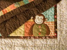 PatchworkPottery: One Little Monkey