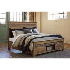 Signature Design by Ashley Sommerford Brown Panel Headboard (
