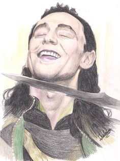 Loki drawing, holy crap this fandom is on top of things...