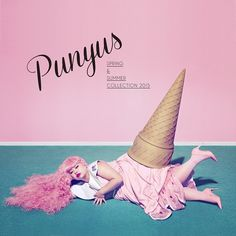 Punyus:2015春夏AD?色味とか、モデルの使い方とか、レイアウトとか、グレイト。