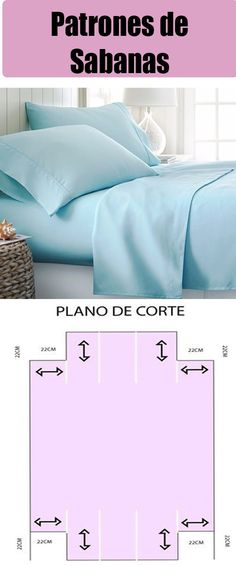Coser Sabanas - Fr Tutorial and Ideas Spring Tutorial, Flat Felled Seam, How To Dress A Bed, Diy Shops, Linen Bedroom, Christmas Sewing, Sewing Accessories, Learn To Sew, Sewing Hacks