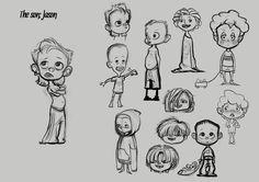 The Strange Family (character design) on Behance