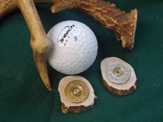 Great Gift Golf Ball Marker Bullet Jewelry shot by AnnieGetUGun, $14.95