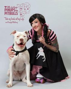 Pitbulls and pinups.