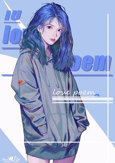 Instagram Editing Apps, Kpop Couples, Kpop Drawings, Iu Fashion, Kpop Fanart, Korean Celebrities, Love Poems, My Princess, Cute Illustration