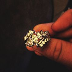 Diamond candle ring!