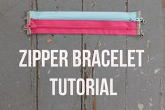 Grab a few colorful zippers to make this trendy bracelet that only requires a few basic jewelry supplies. A fast & fun project!