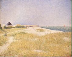 Georges Pierre Seurat  View of Fort Samson 1885