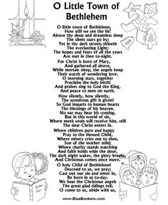 Twas the Night Before Christmas Printable Christmas Carol Lyrics, Printable christmas Song sheets, free christmas lyrics sheets, printable christmas song words
