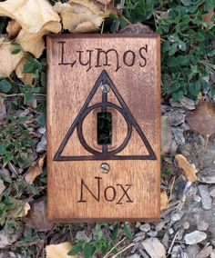 Harry Potter Dealthy Hallows Lumos Nox Light by OohhhBurn