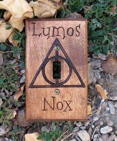 Harry Potter Dealthy Hallows Lumos Nox Light by OohhhBurn