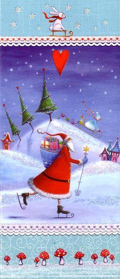 postales de navidad plegables - Buscar con Google