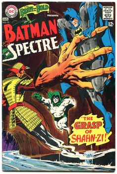The Brave & The Bold, Batman & the Spectre - Pencil & Inks by Neal Adams Silver Age Comics, Brave And The Bold, Be Bold, Dc Comic Books, Comic Book Covers, Marvel Comics Superheroes, Dc Comics, The Spectre, I Am Batman