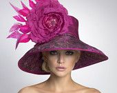 Couture Derby Hat-- Lampshade Hat