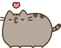 Pusheen kiss