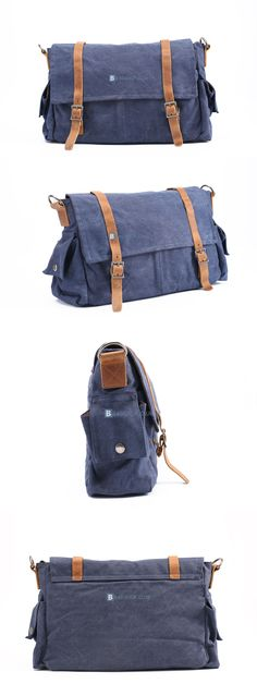 $66.99 Large Canvas Bags Shoulder Bags Mens