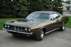 RT 66 Motorsports - Gallery :: 71_Cuda_Gold