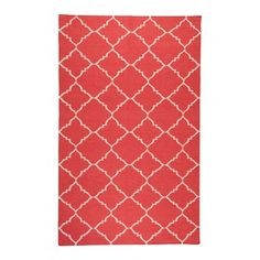 Frontier Rug in Red and Ivory