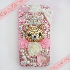 Finally got around to making something for myself :)    SHOP: www.etsy.com/shop/kawaiixcoutureHandmade decoden phone cases, jewelry, & accessories ♡