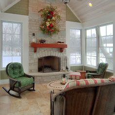 Traditional Porch Design, Pictures, Remodel, Decor and Ideas - page 53 Family Room Addition, Sunroom Addition, Foyers, Four Seasons Room, Three Season Room, Traditional Porch, Room Additions, Reno, Great Rooms